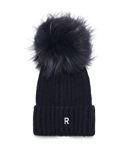 ROCKANDBLUE Hue. Model: Pom Pom Beanie. Black / Blackish . Best-Seller: 299,-  ​V.I.P. Pris. 239,-
