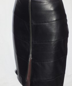 Broch Leather Skindnederdel. Style: 1212. Pre-Winther-Sale: 1.200,-
