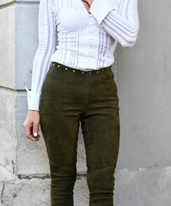 Butterfly Dame Skinleggings. Style: 10.481. Olive Green. Spar. 20%. Now. 2.399,-